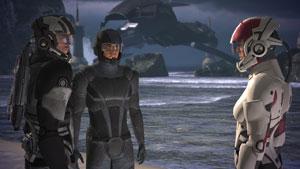 Es gibt viel zu bereden - Mass Effect