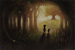 In den Schatten lauern seltsame Dinge, nicht nur im Wald