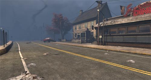 Täuschend leer scheinen die Straßen von Kingsmouth, doch in jeder Gasse lauern die Hirnschlürfer.