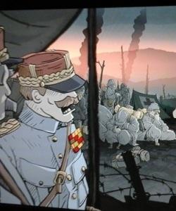 Eindringlich zeigt Valiant Hearts die Leiden der Menschen im Ersten Weltkrieg auf neuartigen Weisen. (Abb.: eigener Screenshot, Chemin des Dames)