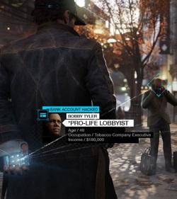 In einem dystopischen Entwurf von Chicago nutzt Hacker Aiden Pierce die übermächtigen vernetzten Systeme unserer Zeit gegen ihre Betreiber. (Abb.: Ausschnitt Screenshot Marketing Ubisoft)