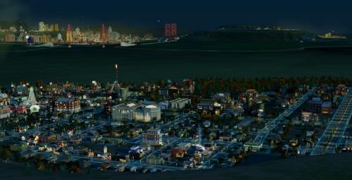 Bis das regionale Zusammenspiel der Teilstädte funktioniert, muss einiges an Arbeit in ihren Aufbau und die Spezialisierung investiert werden. Leider gibt SimCity nur verhalten Rückmeldungen über die drängendsten Probleme. (Abb.: Ausschnitt eines eigenen Screenshots von PC).