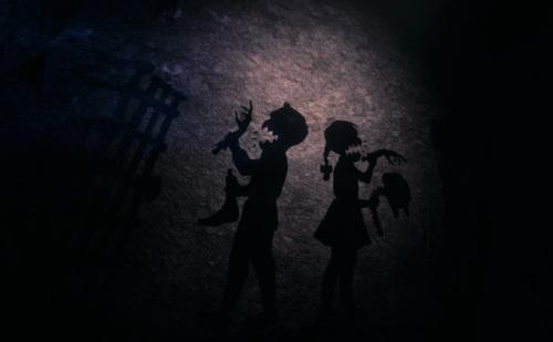 Das bekannte Märchen in der Schwanengrotte endet befremdlich - in dieser Weise nicht nur für die Hexe überraschend. (Abb: Eigener Screenshot PC)