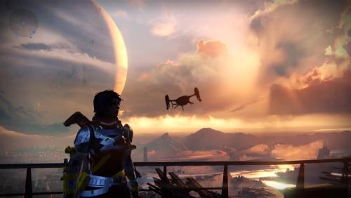 Destiny ist verlockend schön, verfügt über eine lebendige Spielwelt und funktioniert als Shooter flüssig. Doch es wäre so viel mehr drin gewesen. (Abb.: eigener Screenshot PS4)