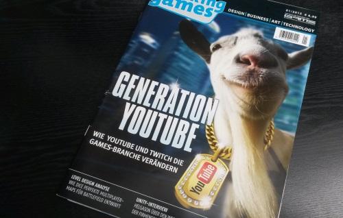 Suchspiel: Wie viele spielekulturell bedeutsame Netzwerke finden Sie im Cover der Making Games aus 2015? Der nachfolgende Beitrag bringt Licht ins Dunkel. (Abb. eigenes Foto)