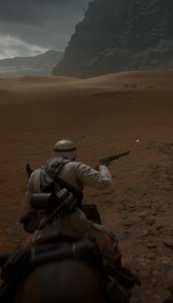 Für Sie bereits testgeritten - Battlefield 1. Doch Pferde sind nicht das einzige, was für Shooter an dieser Inszenierung des Ersten Weltkrieges beeindruckt. (Abb.: eigener Screenshot, PC)