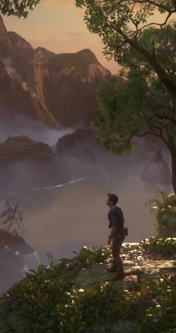 Schwer zu sagen, wer im Action-Abenteuer 'Uncharted 4' der größere Star ist - wie Schatzjäger Nathan Drake inszeniert ist oder die atemberaubenden Schauplätze (Abb. eigener Screenshot, PS4).