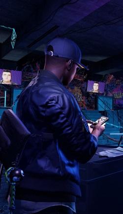 In Watch_Dogs 2 nimmt sich der Hacker Holloway den Freiheitskampf gegen die Sozialen Netzwerke vor, die von Konzernen, Korrupten und Kriminellen missbraucht werden. (Abb. Ausschnitt, Marketing Ubisoft, Webseite)