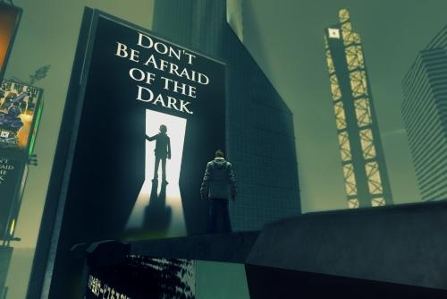 """""""Don't Be Afraid of the Dark""""?! Das dürfte etwas zu spät sein. Was 'The Secret World' in hunderten Stunden Spielzeit an Mythen und Legenden inszenierte, mit historischen Befunden verband und mit Verschwörungen vermengte, genügt für schlaflose Nächte bis ans Lebensende. (Abb. Ausschnitt, eigener Screenshot, PC)"""